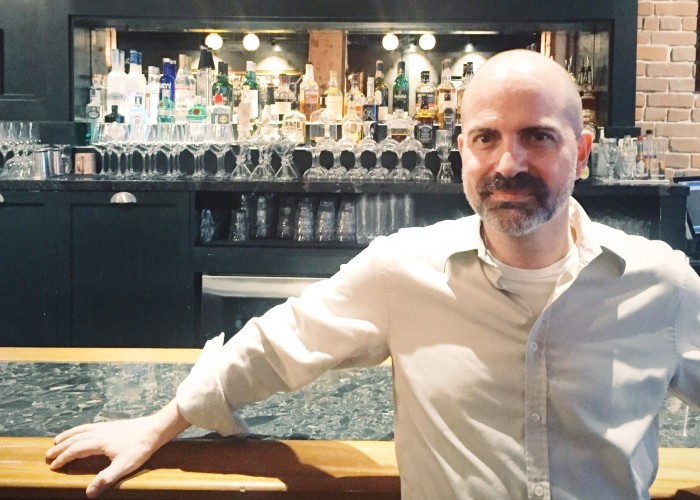 The Distillery Bar + Kitchen general manager Gino Herring.