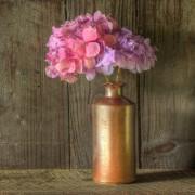 Create an elegant dried flower arrangement