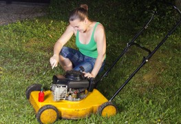 Easy fixes for mowers