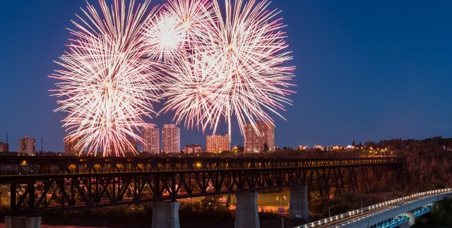 Canada 150: Best spots to catch Canada Day fireworks in Edmonton
