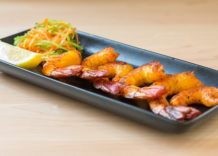 Ember Indian Kitchen's grilled prawns are a customer favourite.