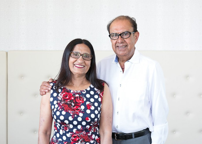 Ember Indian Kitchen was the vision of owners Amin and Farida Sunderji.