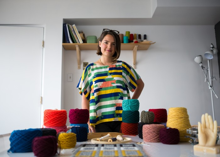 Fern's School of Crafts is owned by Jessica Fern Facette, who seeks to introduce Edmontonians to the art forms of traditional fibre crafts.