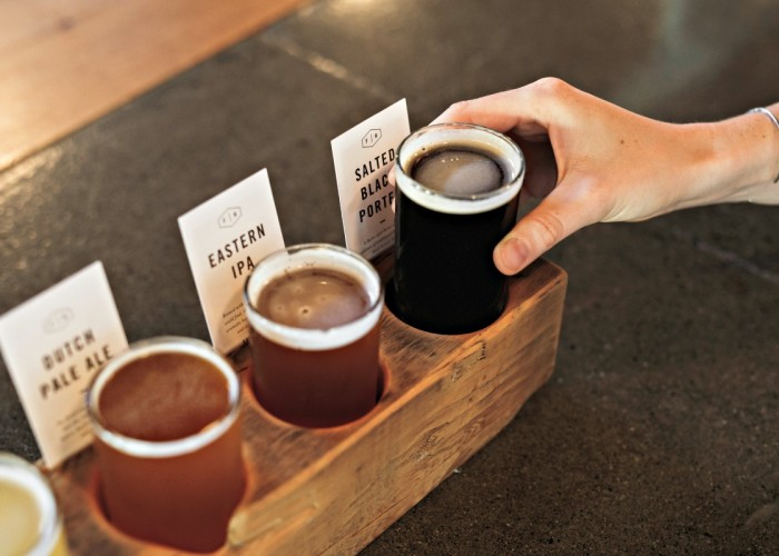 Sample your choice of any four Field House craft beers with a tasting flight.