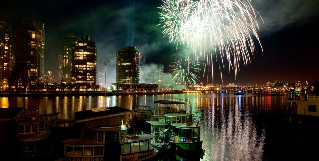 Where to watch Canada Day fireworks in Vancouver