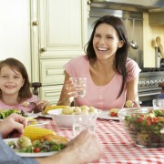 Get your family to help keep your healthy diet on track