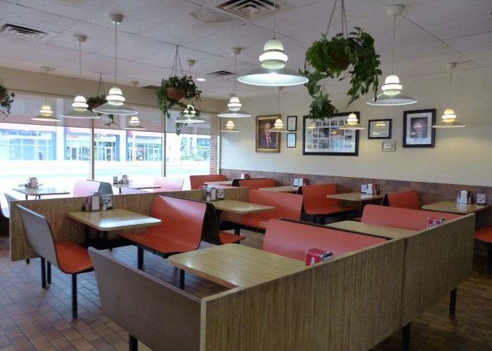 Regulars love the nostalgic feel at Golden Star Burger .