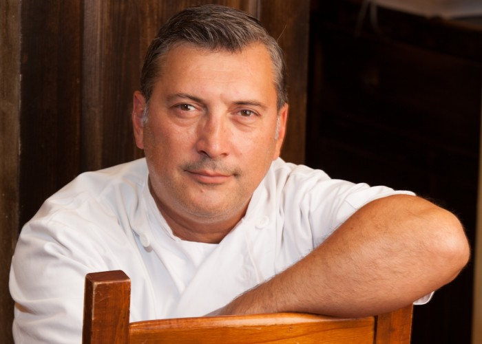 Joe and four business partners are the brains behind Grazie Ristorante.