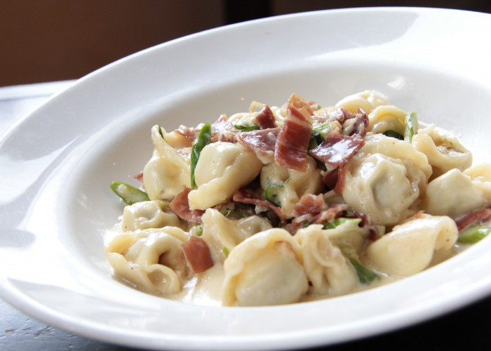 Grazie Ristorante serves a variety of pasta dishes.