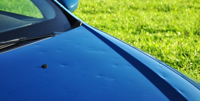 4 ways to repair hail damage to your car