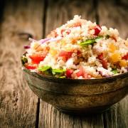 Recipe to beat high blood pressure: pepper-squash couscous