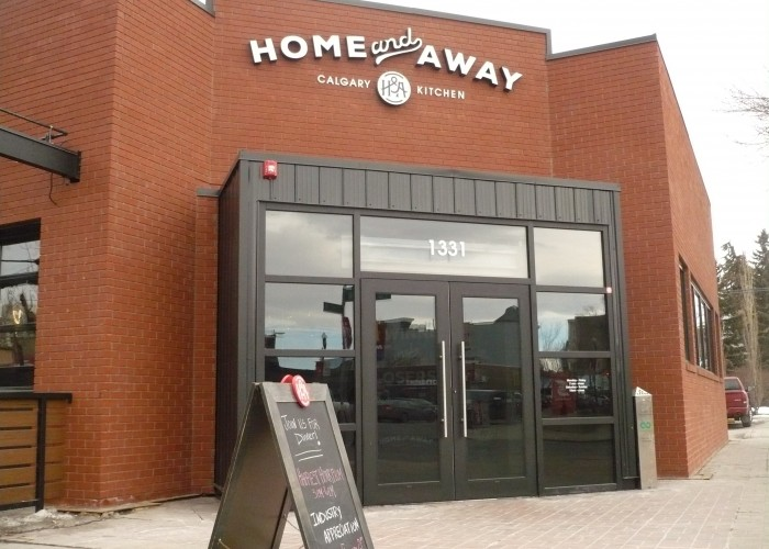 Home & Away is located on the 17th Avenue Southwest shopping and dining strip.