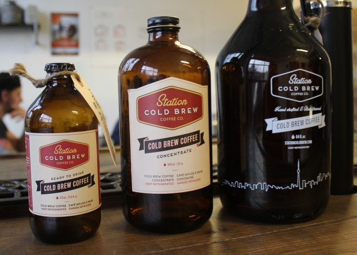 Station Cold Brew Coffee Co. - a range of bottle sizes are available at the shop