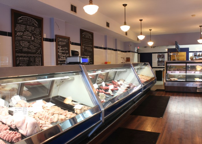 Butchers of Distinction proudly showcases Ontario-raised meat and poultry in a shop reminiscent of a classic European butchery.