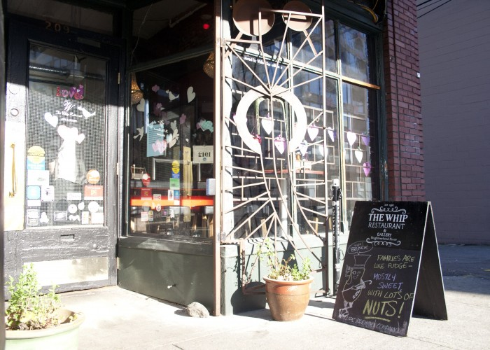 The Whip is an easy-going local hangout for Mount Pleasant residents