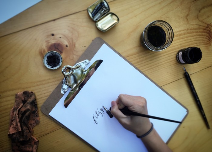 Rabbit's Loop Calligraphy provides custom calligraphy for weddings, events, logos, signs and more