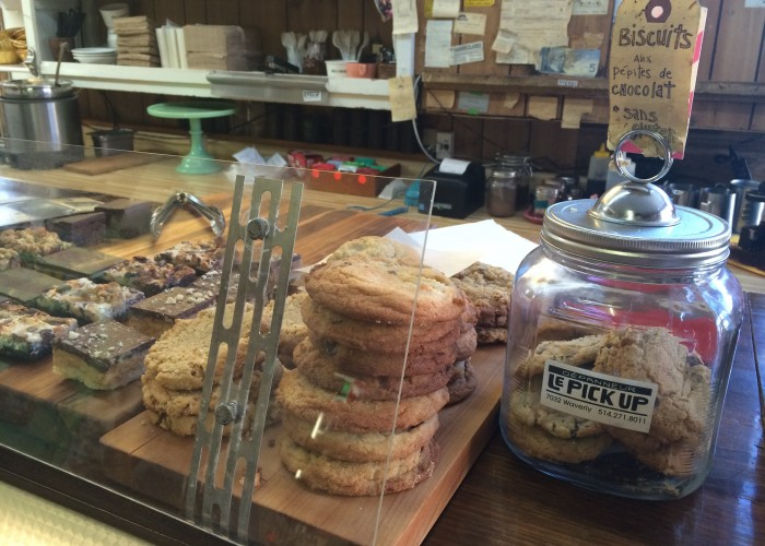 Dépanneur le Pick Up aims to provide food that is both healthy and tasty.