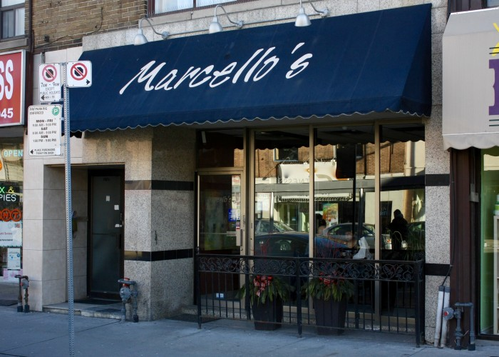 A fixture on Corso Italia since the early '90s, Marcello's Pizzeria welcomes customers seven days a week. Photo by Nancy Fornasiero