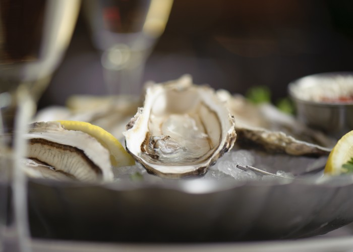 Photo courtesy of Joe Fortes Seafood & Chop House serves oceanic delights like oysters.