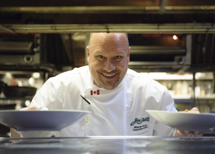 Wayne Sych is the executive chef at Photo courtesy of Joe Fortes Seafood & Chop House.