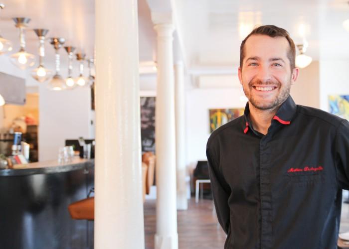 Mathieu Dechezelle is the co-owner of La Kitchenette Montreal.