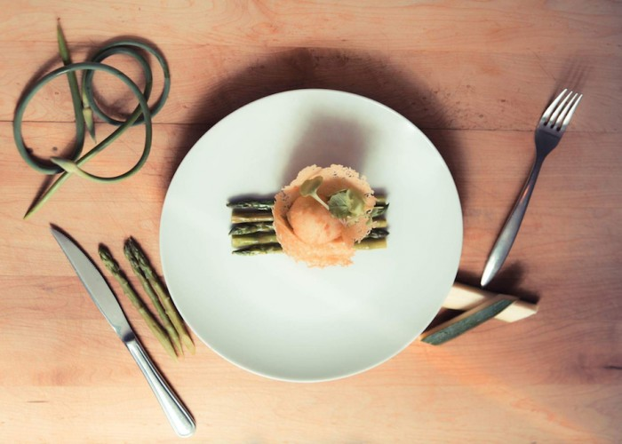 The Kitchenette's menu consists of a French cuisine, delicious and precise.