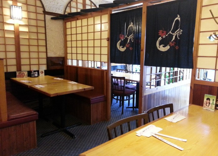 Korean Village Restaurant features an inviting interior.