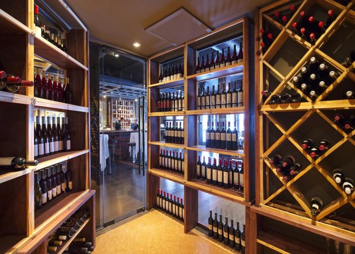 The Lake House serves an award-winning wine list.