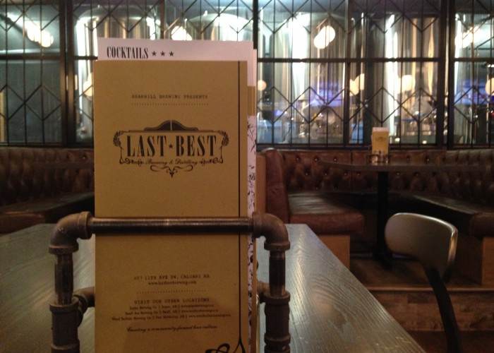 Last Best Brewing and Distilling is a handsomely decorated bar and restaurant.