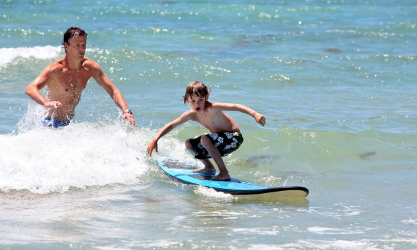 The basics of learning to surf