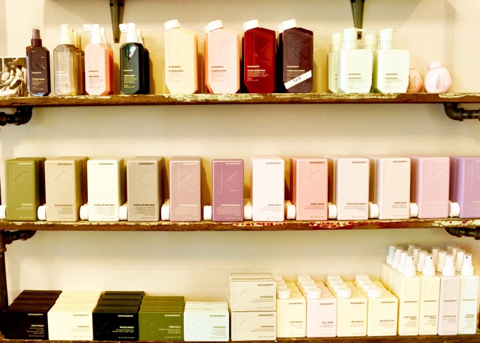 Lebel & Crowe uses Kevin Murphy haircare products, which are available for purchase.