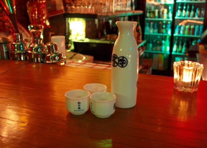 Black Dice Cafe is a '50s Americana-themed bar with a Japanese twist located along Dundas West.