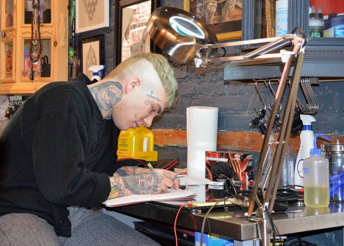 William Gauthier is the manager at MTL Tattoo.