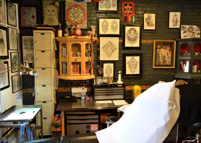All the artists at MTL Tattoo have at least five years' experience, and each specializes in a particular style.