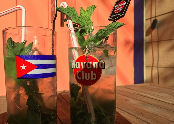 Mambo Lounge's mojitos have been ranked in the press as the best in the city for ten years in a row.
