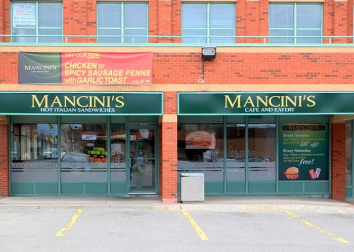 Mancini's is located in Whitby.
