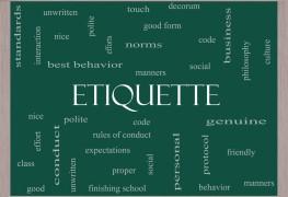A quick history of etiquette