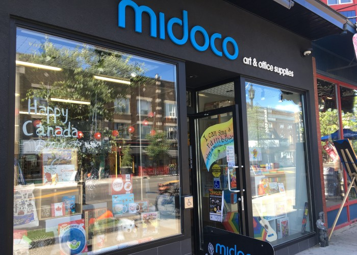 The latest Midoco store is located on Danforth Avenue in Riverdale.