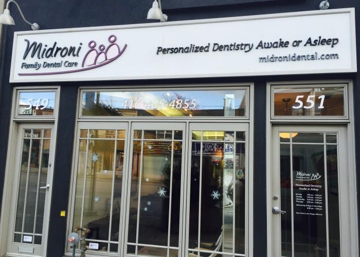Dr. Ran Midroni opened Midroni Family Dental Care in midtown Toronto.