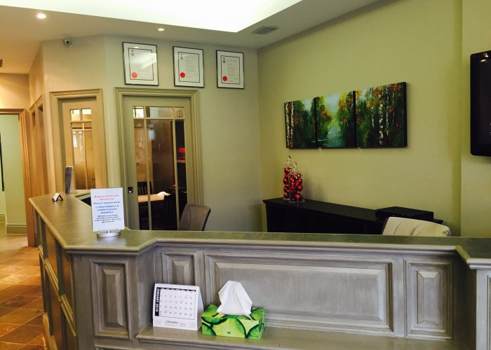 Midroni Family Dental Care offers a welcoming lobby.