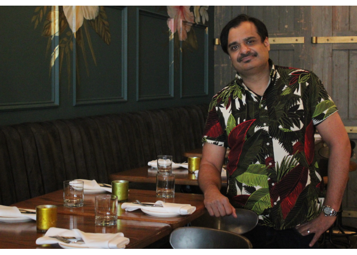 Miss Thing's owner Nav Sangha wants guests to have fun, be comfortable and enjoy a tropical-inspired escape in the city.