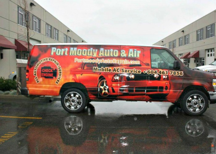 Port Moody Auto & Air's Mobile A/C Service is exclusively for commercial vehicles and includes calls to all the local body shops with ICBC claims.