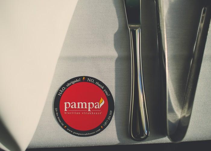 Pampa Brazilian Steakhouse uses locally sourced meat prepared Brazilian style