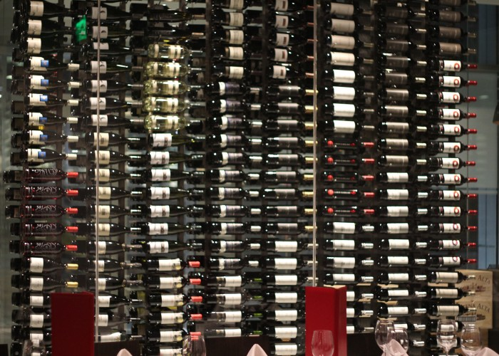 Pampa Brazilian Steakhouse offers many varieties of wine to go with their authentic Brazilian barbecued meats