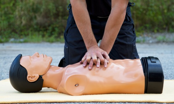 An effective way to do chest compressions