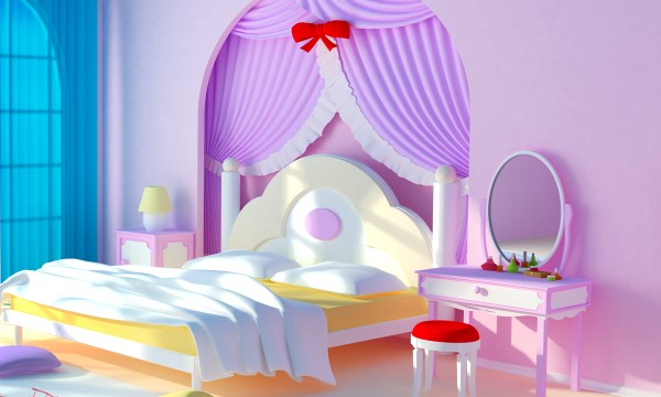 4 ways to create a princess bedroom for your daughter