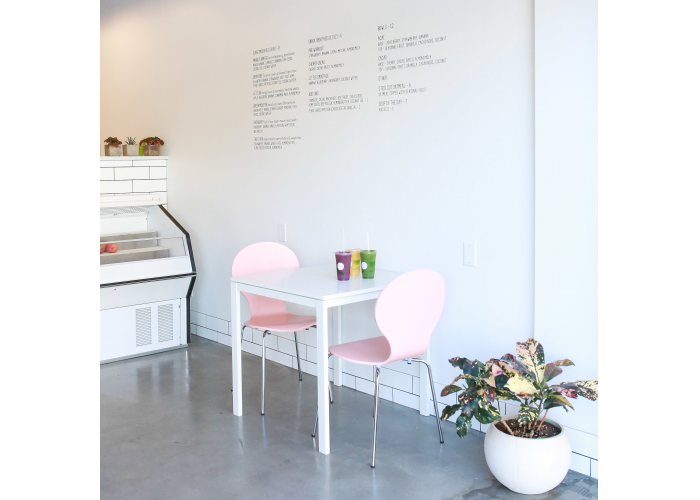 Purpose Smoothie Co. is an open, airy and welcoming place for those looking for healthy drink alternatives.
