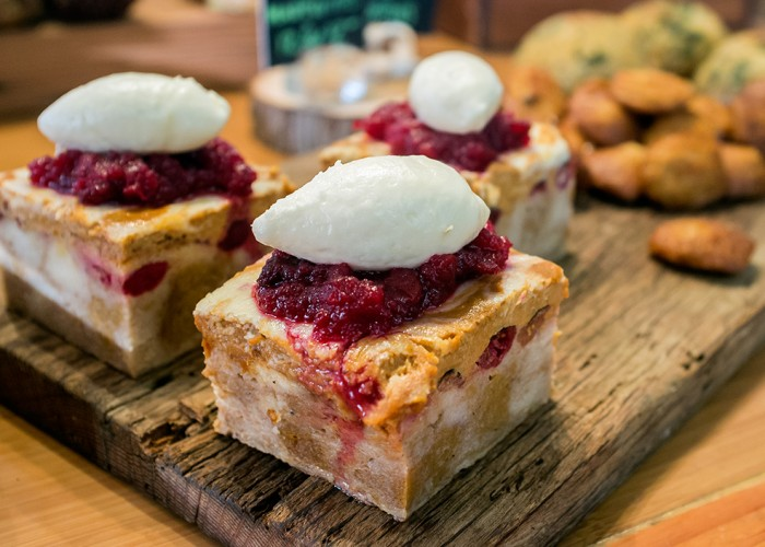 Delectable desserts at Railtown Cafe
