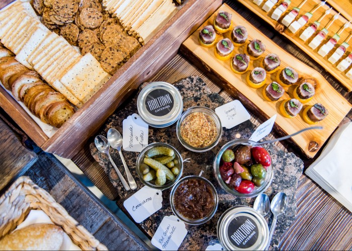 Railtown Catering offers menus for private events both large and small