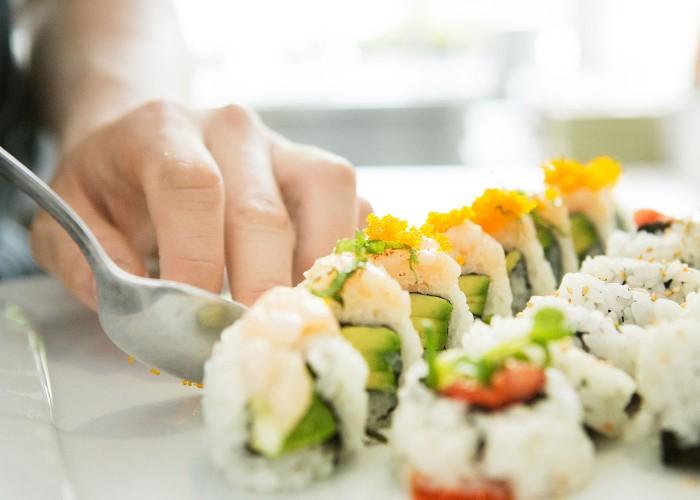 The sushi at RawBar features Ocean Wise seafood and locally-sourced ingreidents.